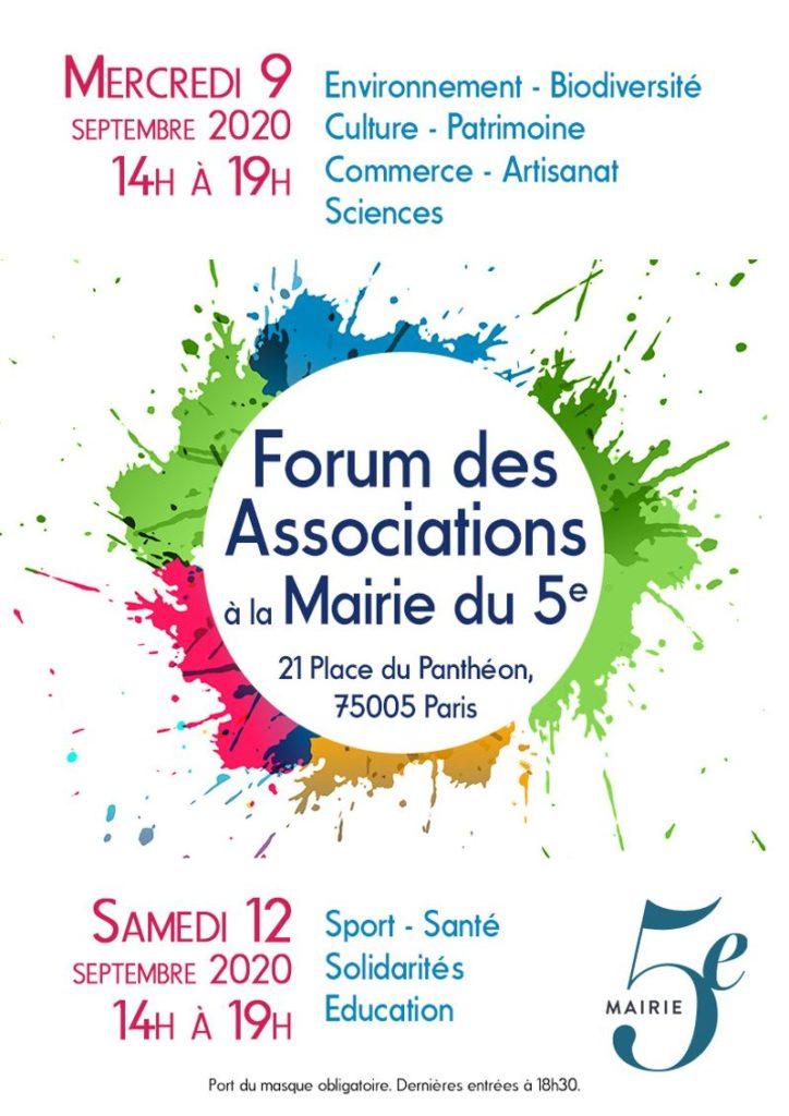 Affiche_forum_des_associations Paris5 2020